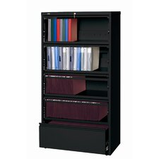 Hirsh HL8000 Series Wide Commercial Lateral Files Open Filing Unit