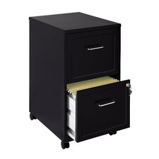 2-Drawer  Mobile File Cabinet