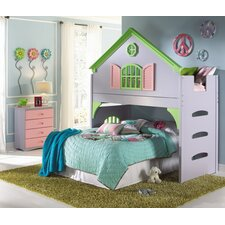 <strong>Discovery World Furniture</strong> Dollhouse Loft Bed