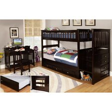 Staircase Twin / Twin Bunk Bed