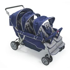 SureStop Folding Bye-Bye 6-Passenger Tandem Stroller