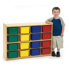 Value Line 16 Cubbie Storage with Trays