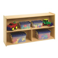 Value Line Preschool Two Shelf Storage