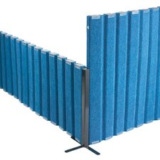 "<strong>Angeles</strong> 30"" SoundSponge Quiet Dividers Wall with 2 Support Feet"