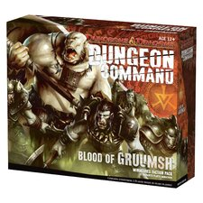 <strong>Wizards of the Coast</strong> Dungeons and Dragons: Dungeon Command Blood of Gruumsh Board Game
