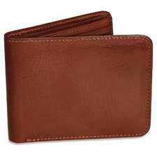 <strong>Jack Georges</strong> Sienna Bi-Fold with Flap Men's Wallet