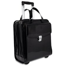 <strong>Jack Georges</strong> Patent Leather Vertical Laptop Catalog Case