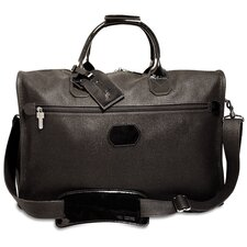 "<strong>Jack Georges</strong> Nevada 18"" Patent Leather Carry-On Duffel with 3 Way Zip"