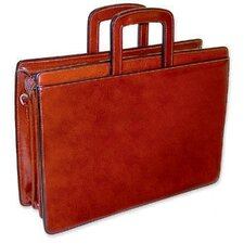 Sienna Triple Gusset Leather Briefcase