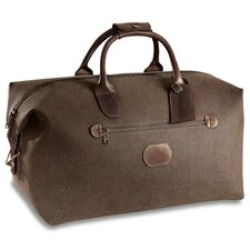 "<strong>Jack Georges</strong> Nevada 19"" Leather Carry-On Duffel"