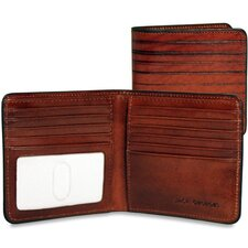 <strong>Jack Georges</strong> Monserrate Bi-Fold Hipster Wallet