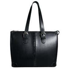 Prestige Madison Avenue Tote Bag with Croco Trim