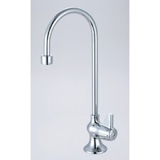 <strong>Central Brass</strong> Single Handle Single Hole Bar Faucet with Rigid Gooseneck Spout