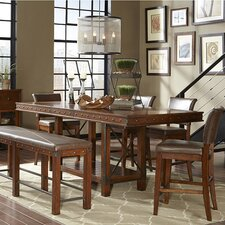 Manchester 5 Piece Counter Height Dining Set