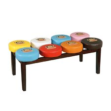 <strong>Najarian Furniture</strong> Paul Frank Marshmallow Bench
