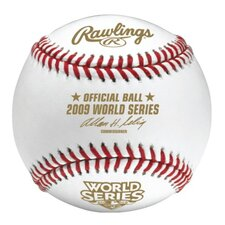 "MLB 2009 World Series Official Baseball ""Cubed"""