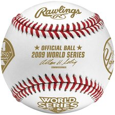 MLB 2009 World Series Champs Baseball - Duel Logo