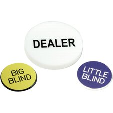 Poker Game Buttons