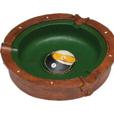 <strong>Cuestix</strong> Novelty Items Eight and Nine Ball Ash Tray