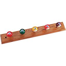 Novelty Items Oak Coat Rack