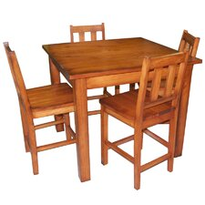 <strong>Vintage Editions</strong> 5 Piece Counter Height Dining Set