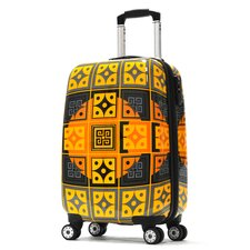 "<strong>Olympia</strong> New Age Art Series 21"" Hardsided Carry-On Spinner Suitcase"