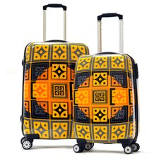 <strong>Olympia</strong> New Age Art Series 2 Piece Luggage Set