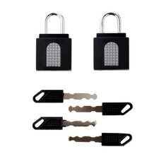 2-Pack Keyed Lock