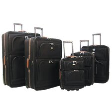 Mammoth II 5 Piece Luggage Travel Set