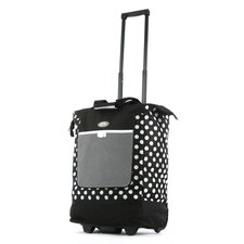Polka Dot Rolling Shopping Tote
