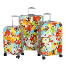 Blossom 3 Piece Hard Case Travel Set