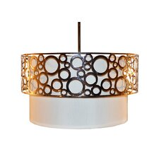 <strong>Sharper Image</strong> Home Decor 3 Light Pendant