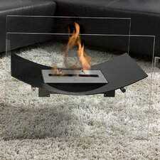 Veniz Bio Ethanol Fuel Fireplace with Glass