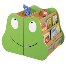 <strong>ECR4kids</strong> Frog Mobile Book Storage (2-Piece)