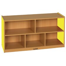 "<strong>ECR4kids</strong> Colorful Essentials™ Storage Cabinets - 5 Compartment - 24"" High"