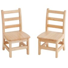 3 Rung Ladderback Chair (Set of 2)