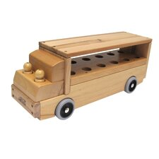 Dramatic Play Single Decker Bus Transportation Vehicle