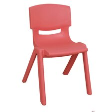 "10"" Polypropylene Classroom Stackable Chair (Set of 6)"