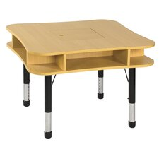 "<strong>ECR4kids</strong> 36"" Media Center Table in Maple"
