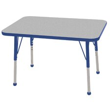 <strong>ECR4kids</strong> 24x36 Rectangular Adjustable  Activity Table in Gray