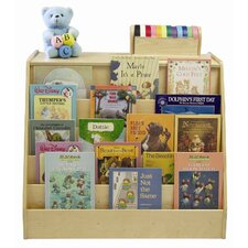 Book Display and Book Shelf Storage Unit