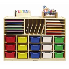 <strong>ECR4kids</strong> Multi Section Storage Cabinet