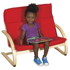 <strong>ECR4kids</strong> Double Seat Comfort Kid's Club Chair