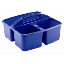 <strong>ECR4kids</strong> Three Compartment Small Plastic Art Caddy