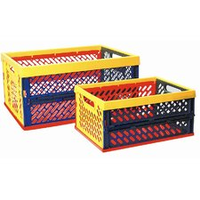 Large Ventilated Collapsible Crate