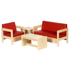 <strong>ECR4kids</strong> Kids 4 Piece Table and Chair Set