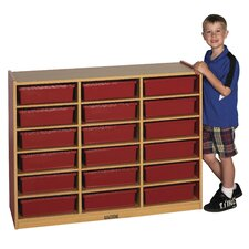 Colorful Essentials™ Multi-Purpose Cabinet 18 Compartment Cubby