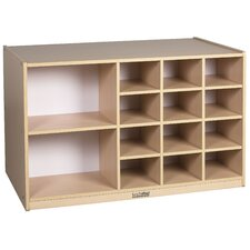 Double-Sided 12 Tray Cabinet without Bins