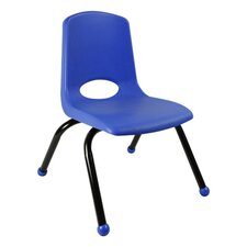 "10"" Plastic Classroom Stackable Chair"