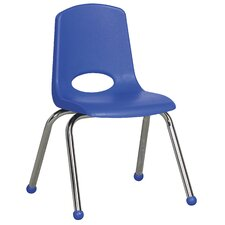 "14"" Plastic Stack Chair (Set of 6)"